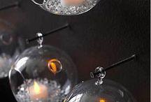 sklené ozdoby deravé