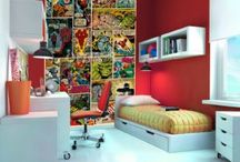 Myles' marvel-ous bedroom