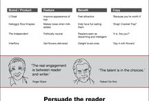 Writing Across the Media / Infographics for the writing across the media course.