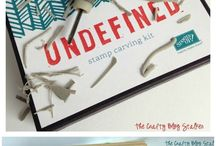 Undefined Stamp Carving by Stampin' Up! / by Stefanie - The Crafty Medic