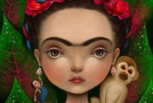 Frida Kahlo / by Alicia ♥ Almaraz