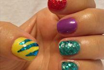 Disney nails art