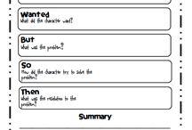 Reading Summary Chart
