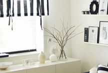 Our livingroom / livingroom on black & white