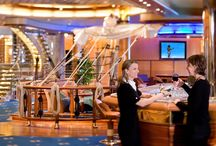 Independence of the Seas / Independence of the Seas is a Freedom-class cruise ship operated by the Royal Caribbean cruise line that entered service in April 2008. The 15-deck ship can accommodate 4,370 passengers and is served by 1,360 crew