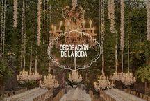 Decoración para bodas / Te presento ideas y consejos relacionados con la decoración de la boda.