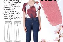// ASH // / Ideas, inspiration, tutorials and your makes for the Ash jeans pattern set! Get the pattern here: https://megannielsen.com/products/ash