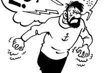 Hergé / Père de Tintin et dessinateur reconnu par son influence du milieu publicitaire