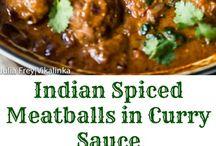 Indian Spiced Meatball