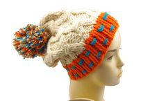 Stylowe czapki 2014 / Ciepłe i miękkie, wełniane czapki  - idealne na jesienno-zimowe chłody
