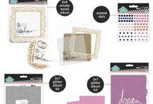 Make Pretty Stuff Jo-Ann Collection / Heidi Swapp Jo-Ann's collections