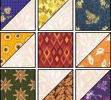 Half square triangle quilt designs