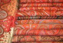 Paisley  Kasmir Shawls / Shawls Indo-French