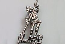 Danegeld medieval jewellery / medieval jewellery