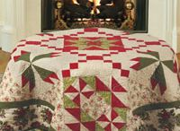 Christmas quilts: time to start sewing! / Whether a gift for a family member or a new home decor item,it is never too soon to start holiday sewing!