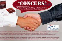 """CONCURS Castiga Audiobook-ul """"Parteneriate profitabile si relatii autentice"""""""