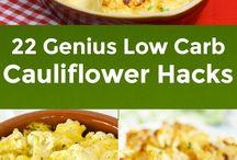Low Carb Cauli Swaps / Low Carb Lovin - All Things Zucchini Swaps