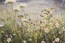 Herbage / Рисунки и фотографии трав и цветов.