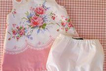 vintage šatičky