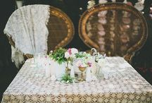 Asientos para novios - Wedding seatings