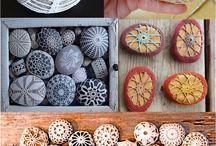 crochet pebbles