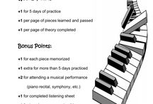 Piano Practice Incentives / by Kathleen Barzee