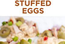 huevos duros rellenos