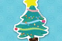 Seasonal Stickers / Kumpulan stiker seasonal khusus dari Decodeko. More info at www.decodeko.co.id