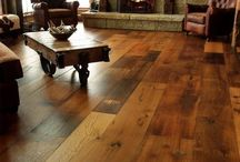wood floors / by Kristen Matt OHara