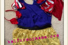 Running Costumes / Running costumes for Disney Princesses!