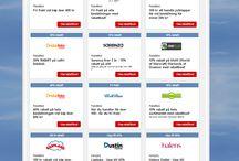 Veckans bästa erbjudanden / Veckans bästa rabattkoder, rabatter, kampanjer och erbjudanden