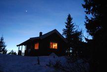 Mijn DNT Hutten / De Noorse berghutten waar ik al eens naar toe gewandeld of geskied ben. 100 Hutten is de gouden DNT sleutel.