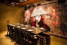 Aasialaiset ravintolat / ravintoloita