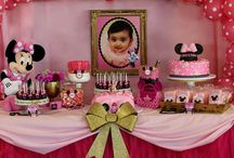 Minnie Mouse 1st Birthday Party / Minnie Mouse 1st Birthday Party Stylist/Event Planner: www.debbiekennedyevents.com Printables: www.squaredpartyprintables.com Balloon Art: www.lightfootentertainment.com Linens: www.latavolalinen.com Pink Tulle Table Skirt: https://www.facebook.com/poshcoutureeventsdesign