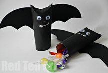 Halloween Craft / Bat pinata