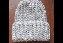 Scarves - Beanie - Crochet