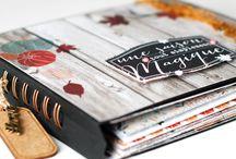 Proyectos Scrapbook / Descubre los más preciosos proyectos de #Scrapbooking  #Miniálbum #Layouts #Diarios #álbum