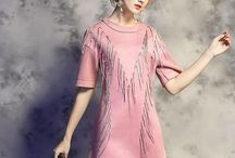 Ladies autumn dress
