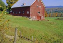 Vermont'esque Beauty / Vermont is bucolic~here are some glimpses of the Green Mountain State and other beautiful spots.