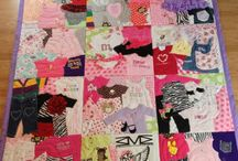 Baby clothes quilt ideas