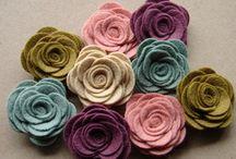 Felt Flower Ideas / by ThePlaidBarn