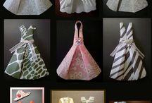 origami elbise