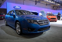 Ford Fusion / Ultra techy, dynamic and fuel efficient with hybrid-option superpowers  / by Ford Canada