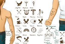 Percy jackson tattoo