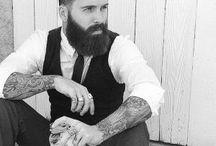 Men and beard
