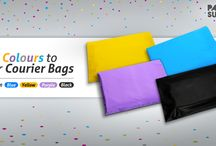 Colored Courier Bags