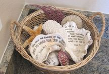 Beach, Sea Shells - Craft & Quotes