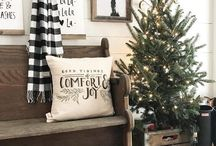Christmas Rustic Decorating Ideas