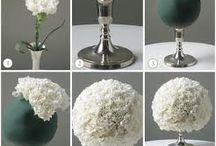 Wedding flowers & tables decoration