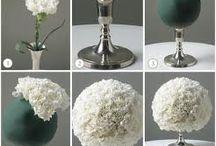 Wedding flowers & tables decoration